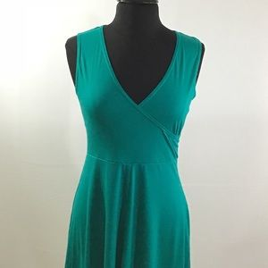 Turquoise Midi Sun Dress